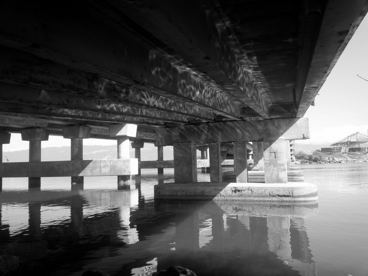 Under the bridge