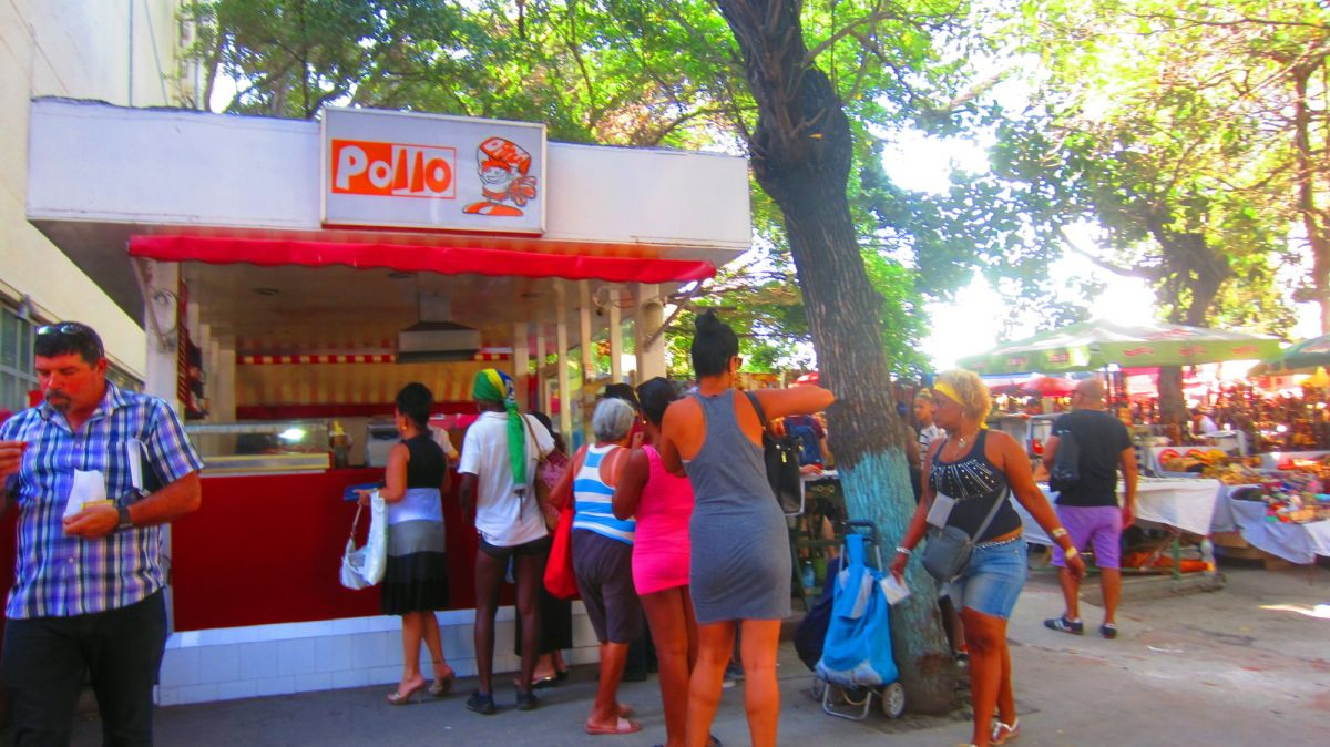 Pollo = chicken but there was none there I checked