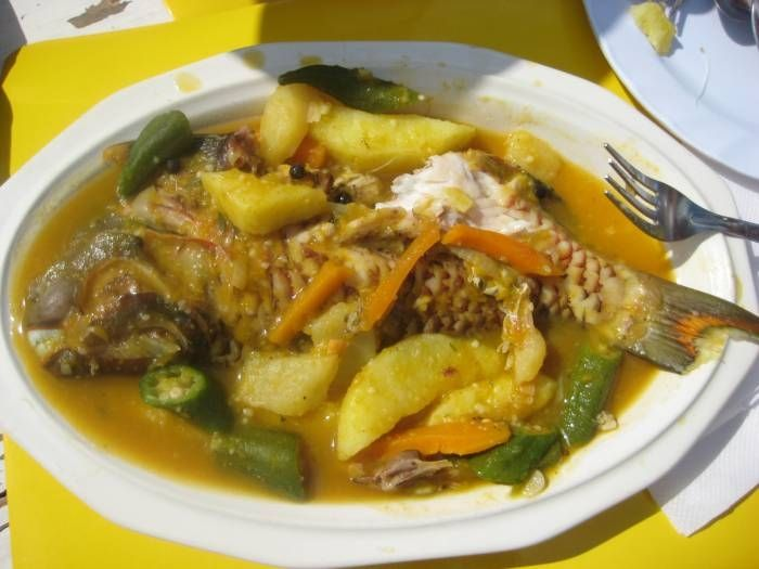 Hellshire steamed fish food and eats for Jamaican steam fish